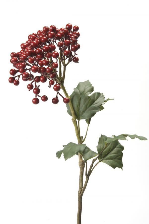 Bessen Sneeuwbal rood 60cm