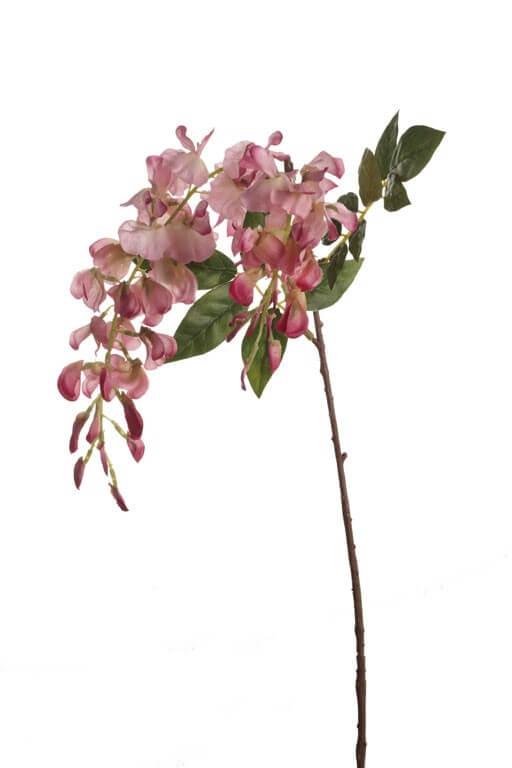 Blauwe Regen roze 45cm