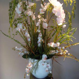 Bloemstuk Orchideeplant