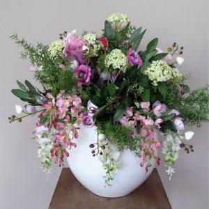 Bloemsuk wisteria-asperage