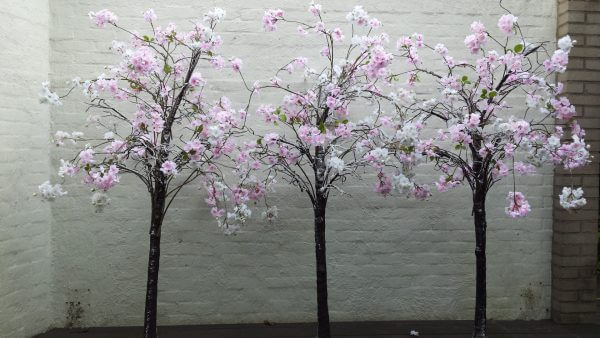 Bloesemboompjes wit/roze 180 cm