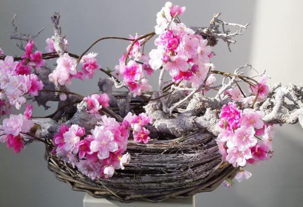 Bloesemkrans roze