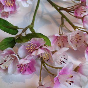 Bloesemspray 66 cm lichtroze