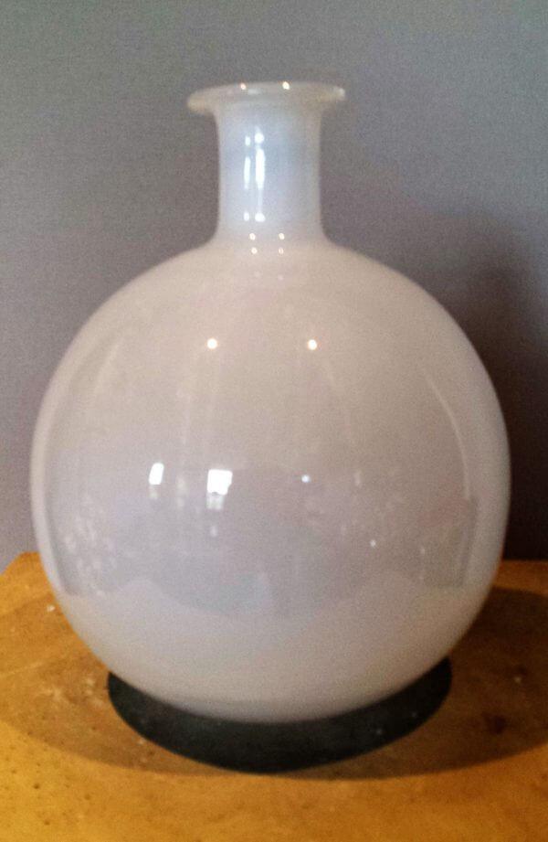 Bolvaas wit  glas