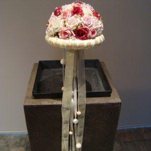 Bruidsboeket Foam Roosjes