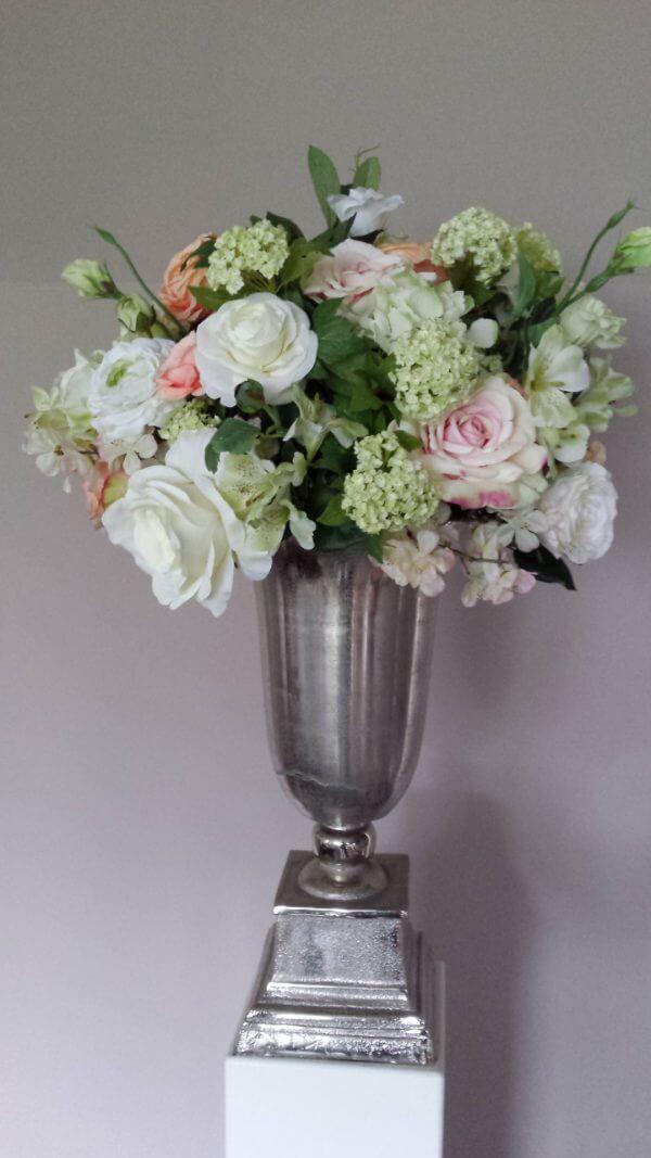 Ceremonie zijden bloemstuk