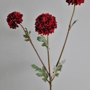 Dahlia bordeaux rood 42 cm