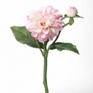 Dahlia roze 35cm