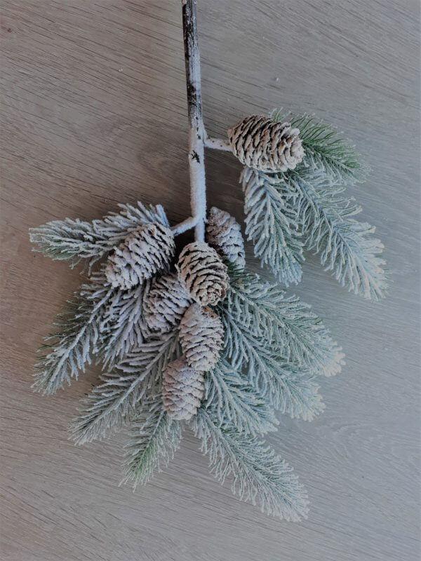 Dennenappel kersttak 67 cm