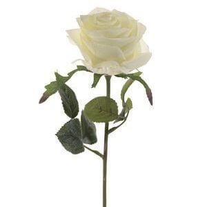 Roos Simone wit 45 cm